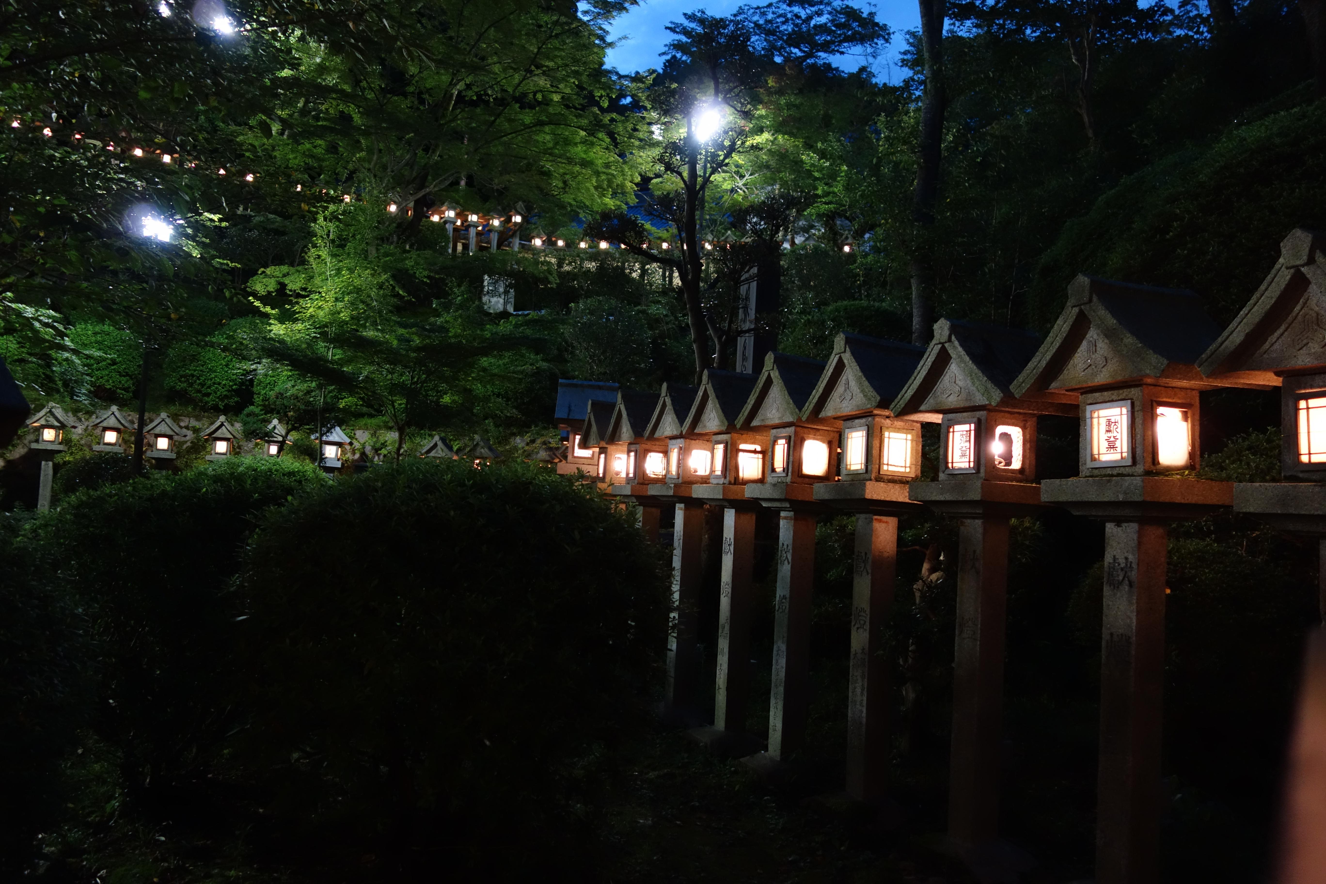 Tempio giappone vicino Nara