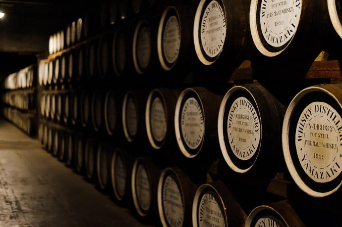 Yamazaki distilleria
