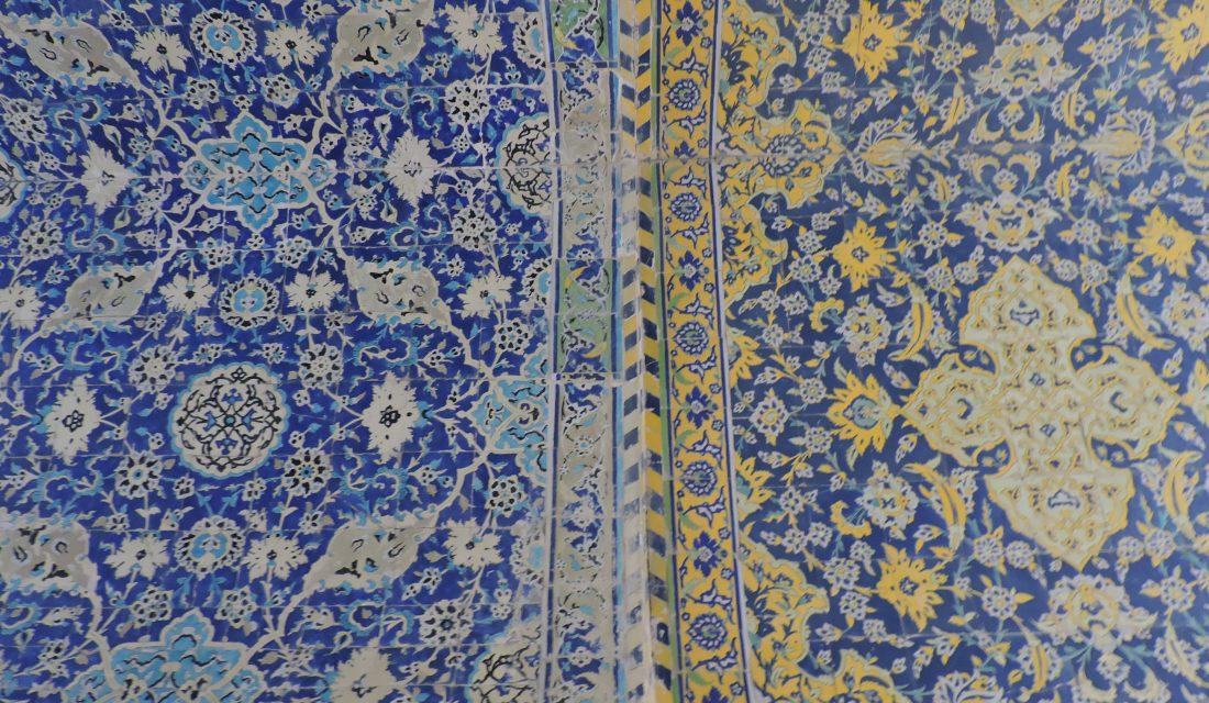 Esfahan e i bellissimi colori delle moschee