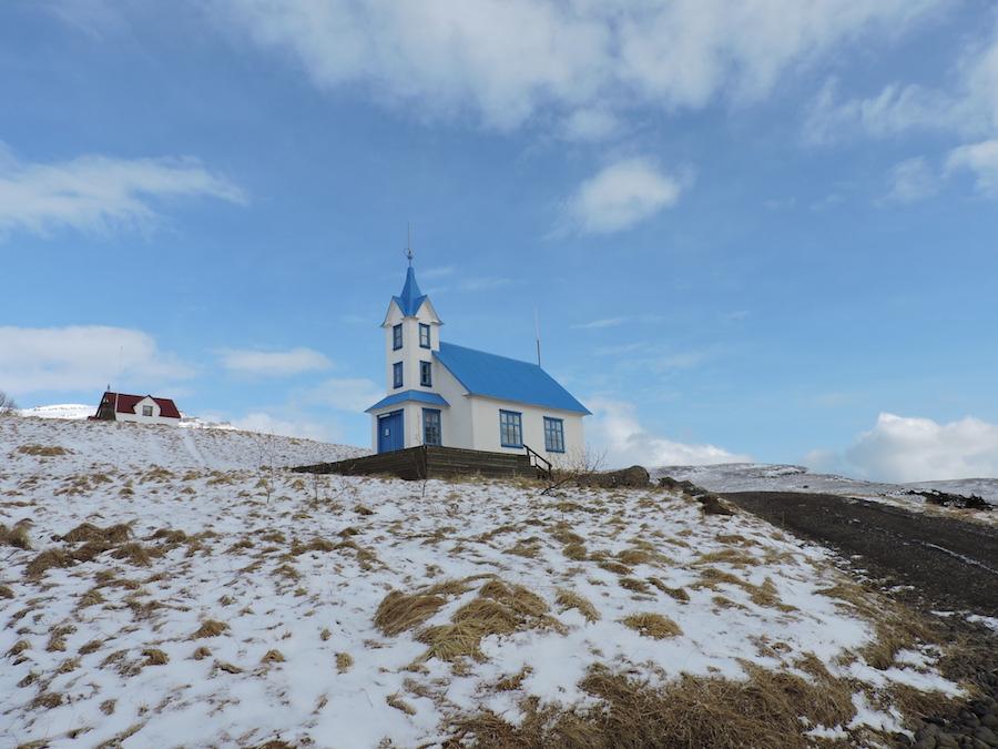 Islanda Fiordi Est chiesa
