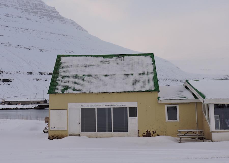 Seyðisfjörður bookshop
