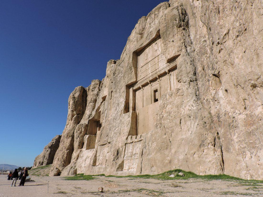 L' ocra dell'antichità: la tomba di Dario II a Naqsh-e Rostam vicino Shiraz
