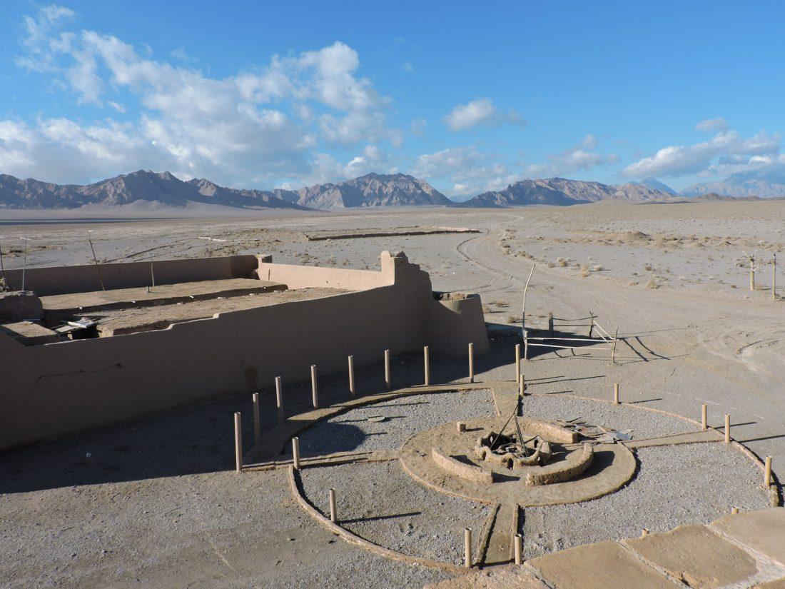 L'ocra del deserto: il Caravanserai Zein o Din