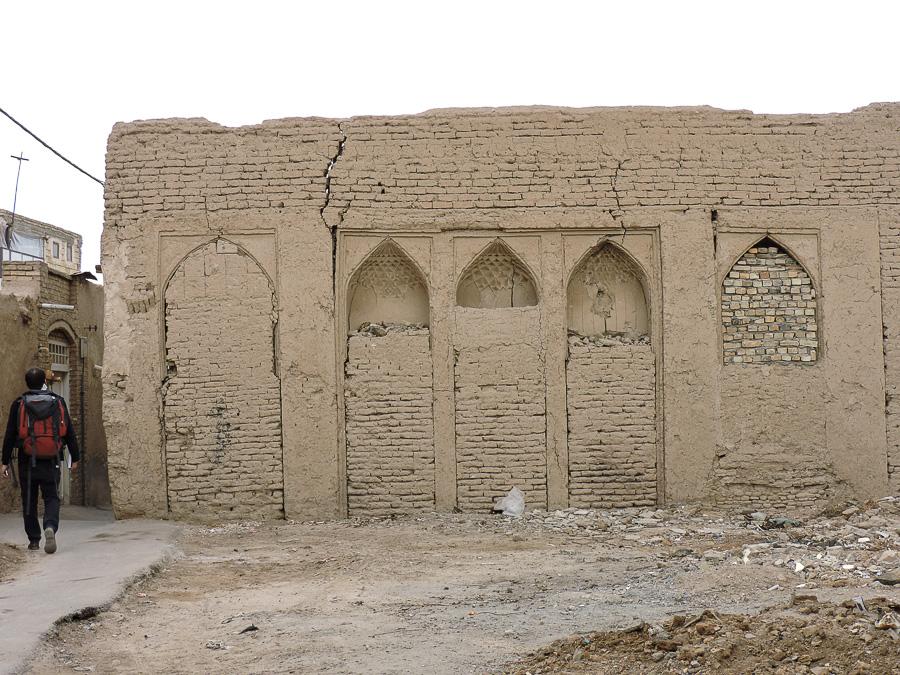 Muro della città vecchia di Yazd
