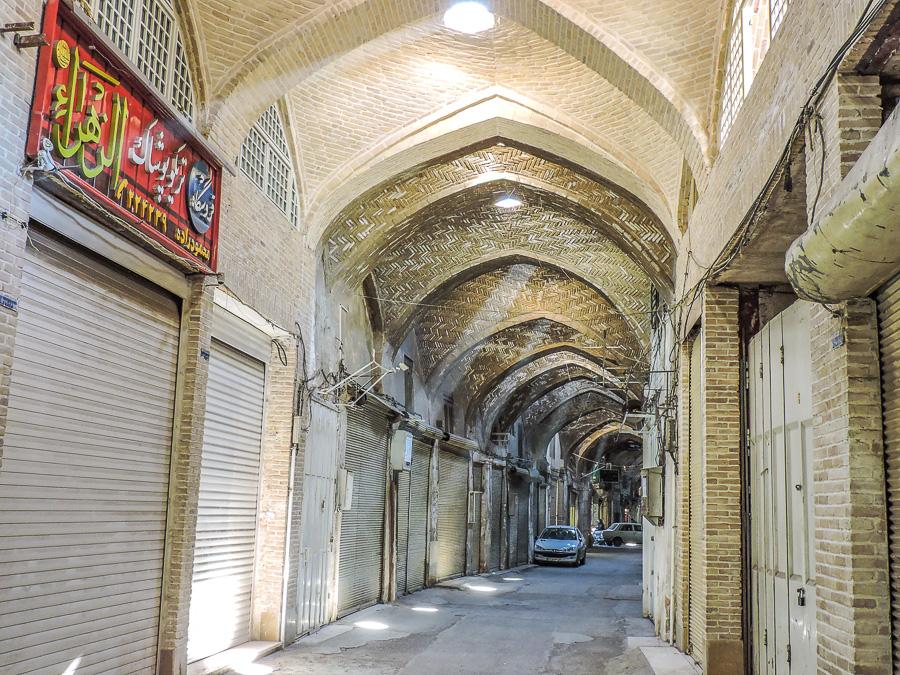 L'interno del Bazar di Isfahan