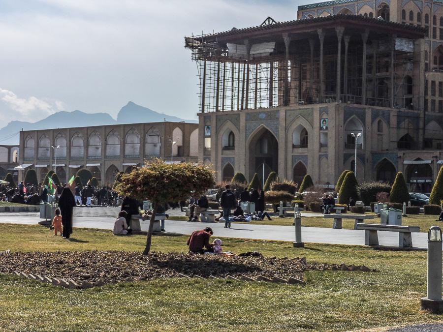 Ingresso dell'Ali Qapu Palace