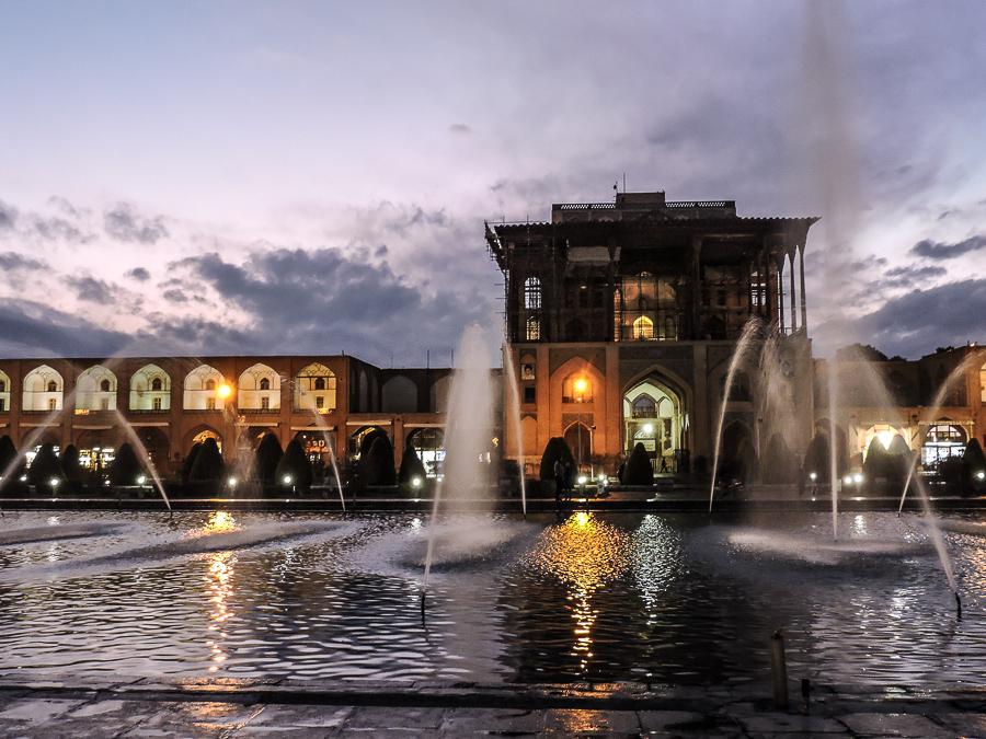 La piazza di Isfahan
