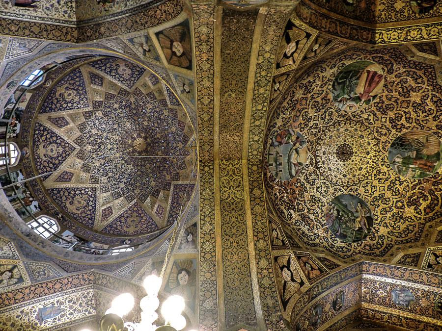 Cupole della Cattedrale di Vank a New Julfa, Isfahan