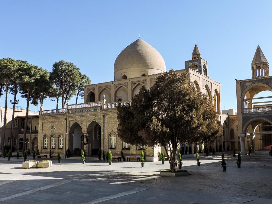 Veduta esterna della Cattedrale di Vank a New Julfa, Isfahan