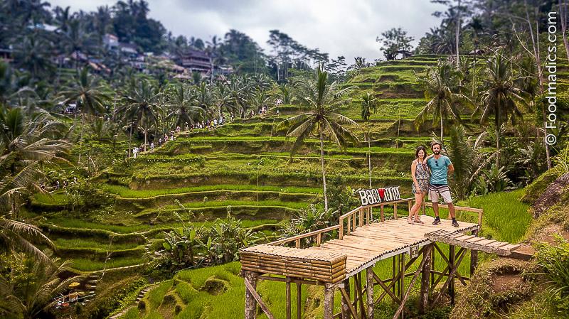 Ale e Sara di Foodmadics a Bali