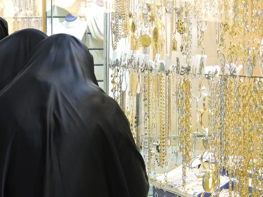 Bazar dell'oro a Teheran
