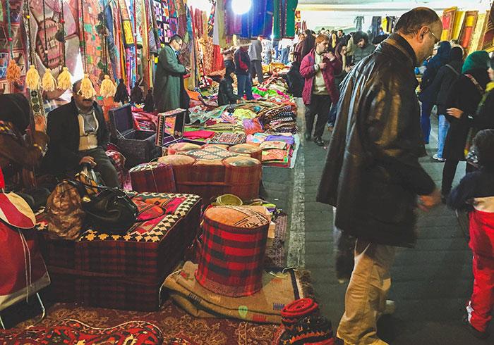 Jome Bazar on Friday