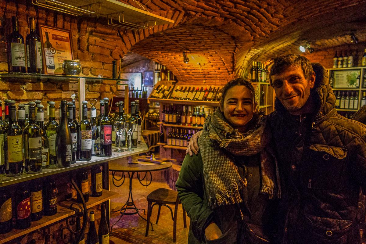 artur di vinoground insieme ad ale