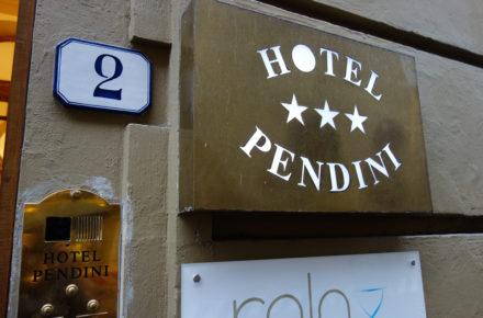 hotel Pendini in piazza della repubblica a Firenze