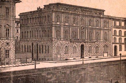pensione bellini (nonchè palazzo Adelaide Ristori) sul lung'arno Vespucci