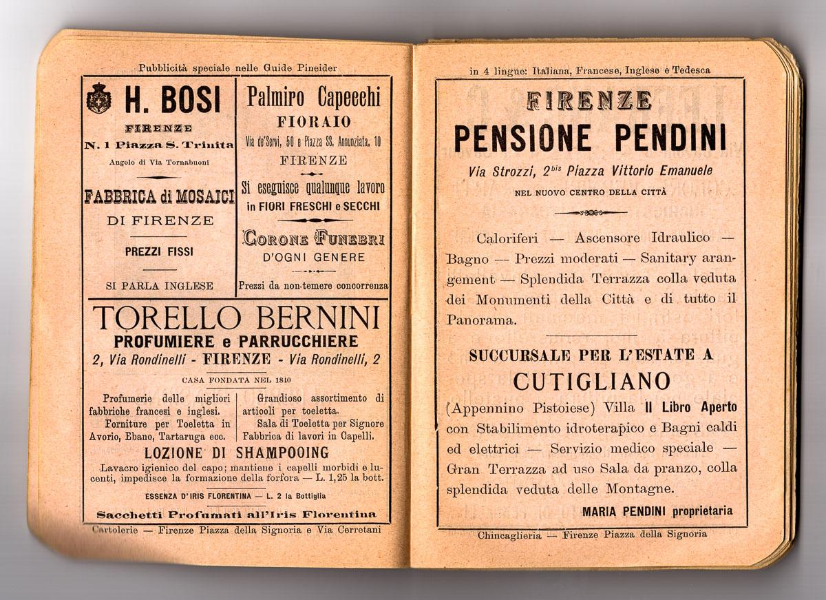la pensione Pendini in piazza della repubblica (oggi Hotel Pendini)