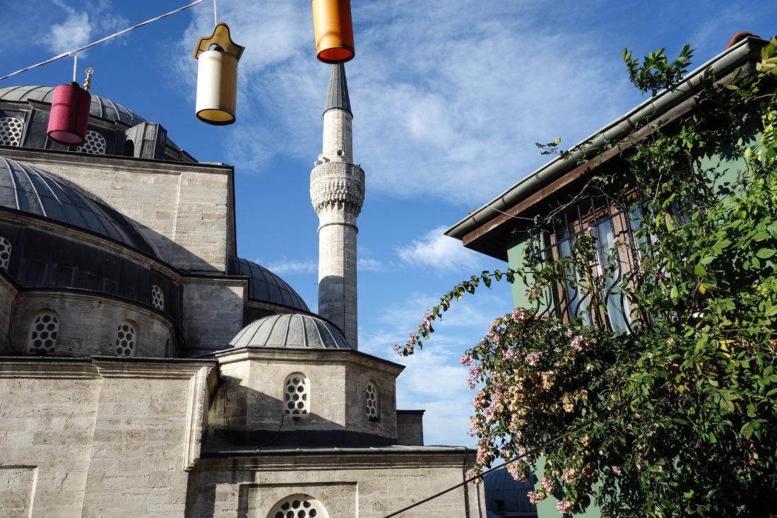 La moschea Mihrimah Sultan: un dettaglio