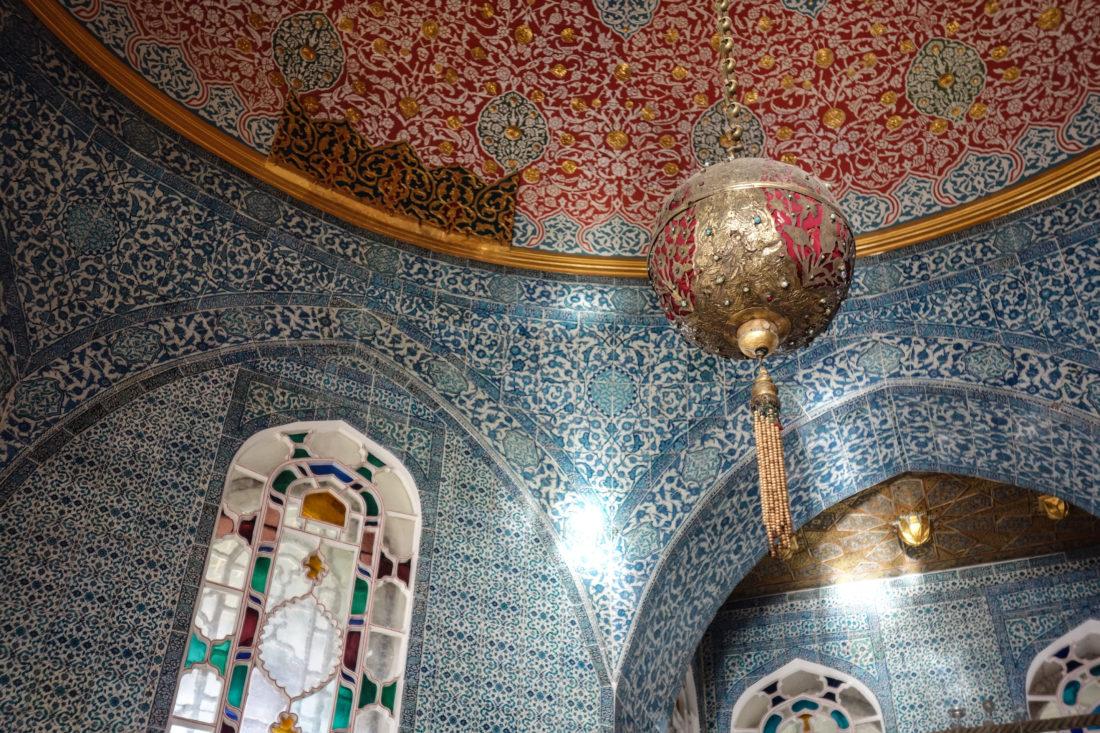 La cupola di uno dei padiglioni del Palazzo Topkapi