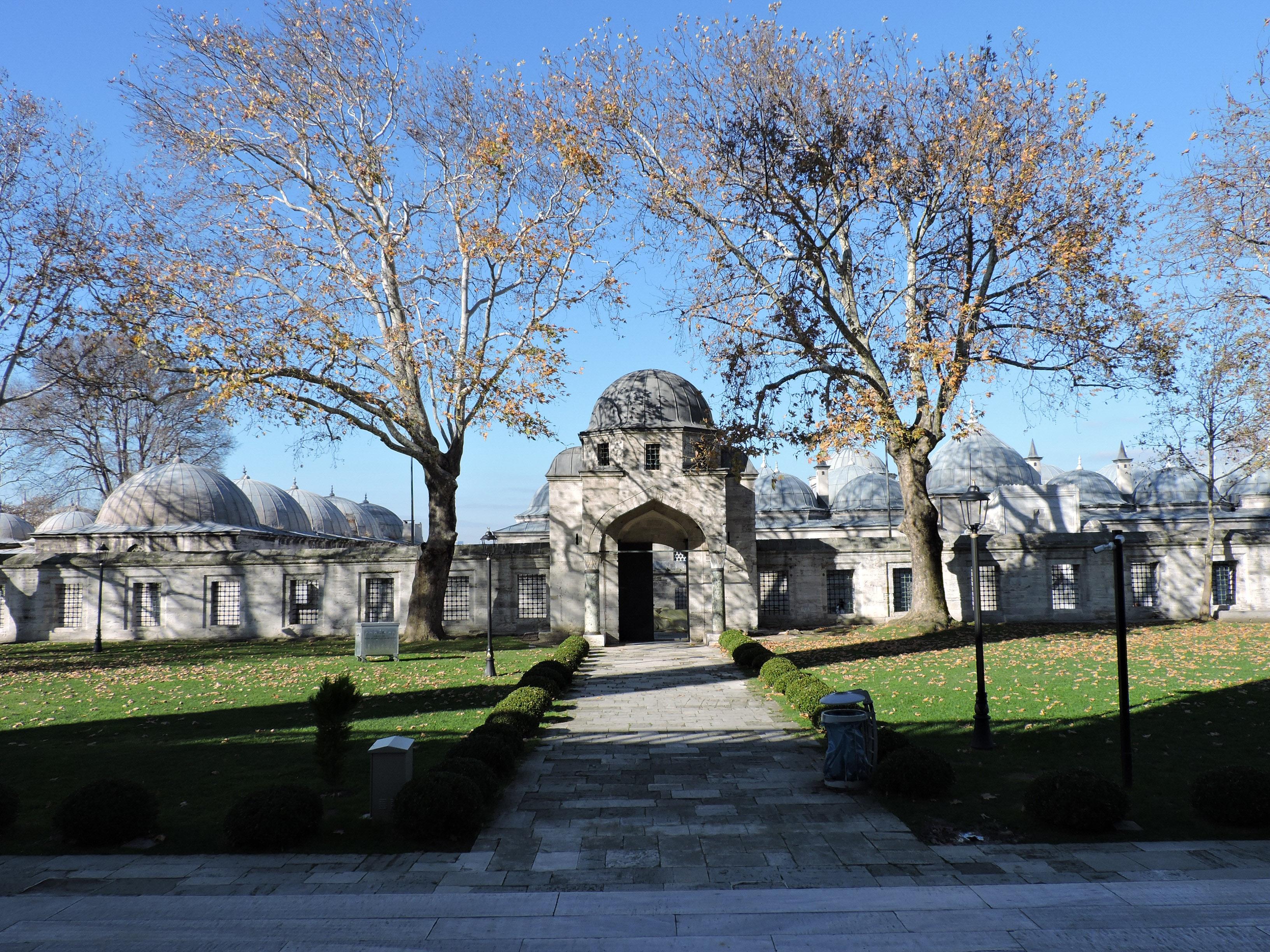 Portico della moschea Suleymaniye