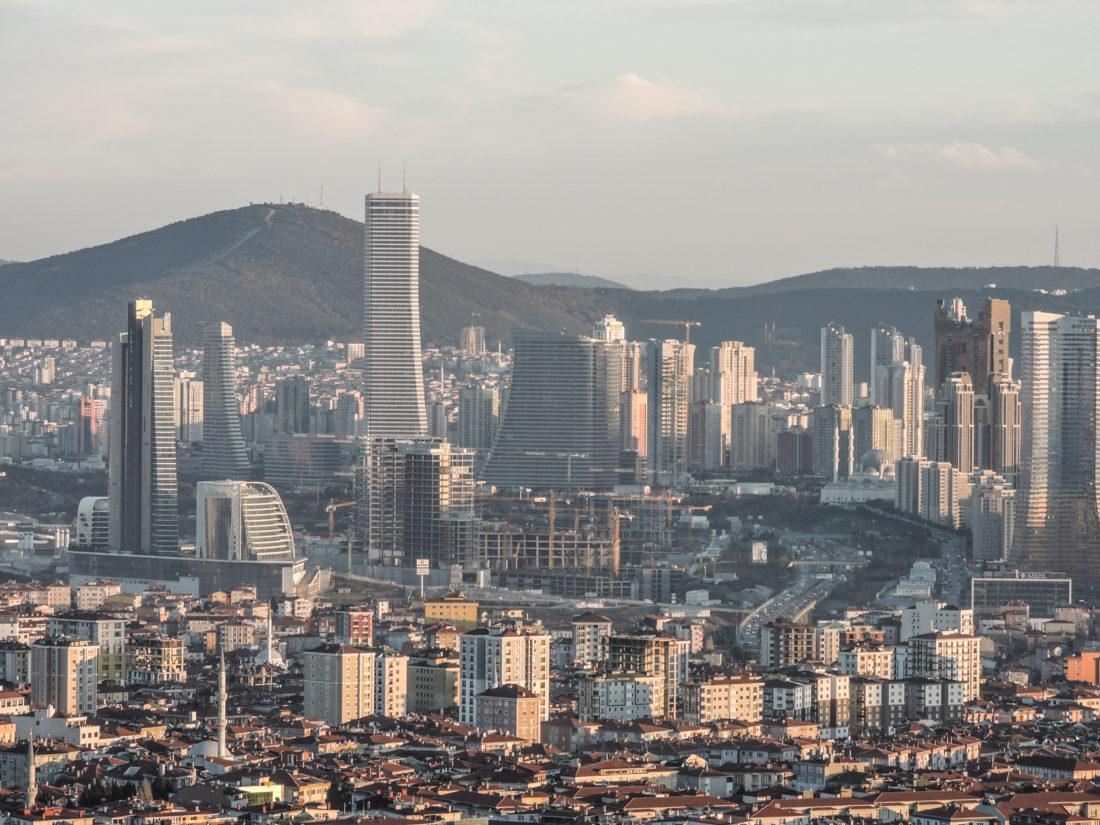 Il distretto finanziario sul lato asiatico di Istanbul