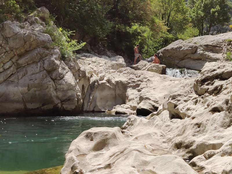 Il fiume di Cagli: la Gorga Brugnola