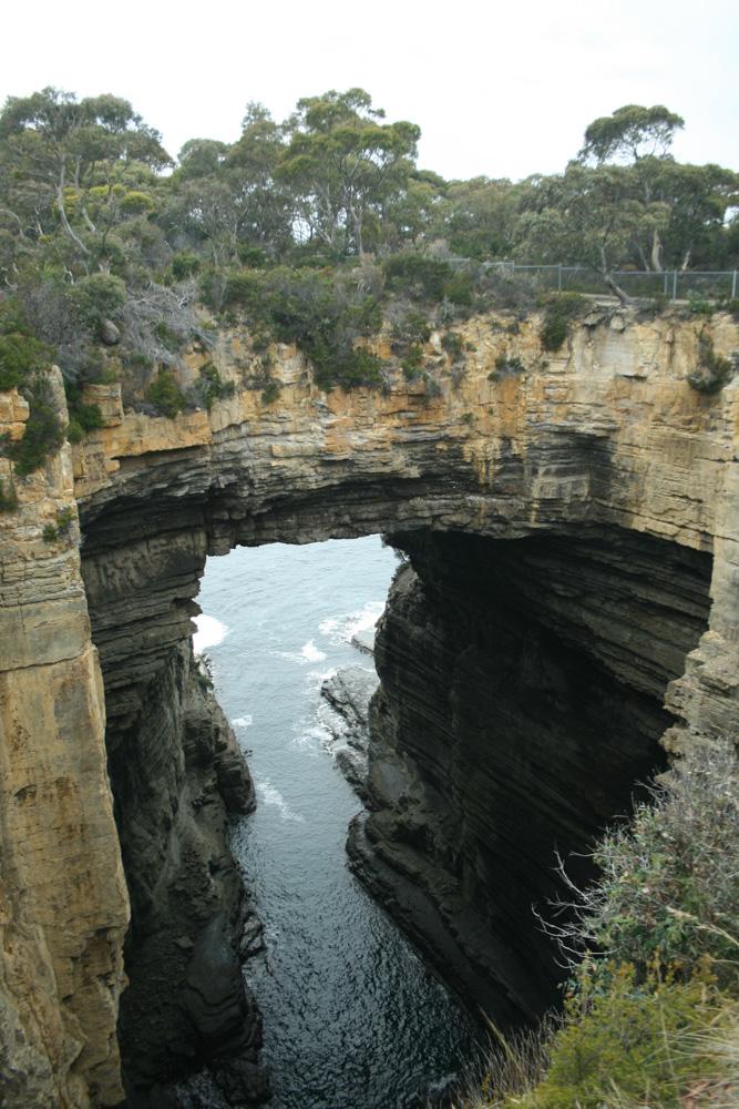 La formazione naturale di Tasman Arch