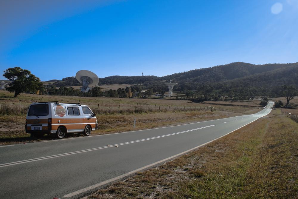 Il mini-caravan di Lisa e J sulle strade dell'Australia