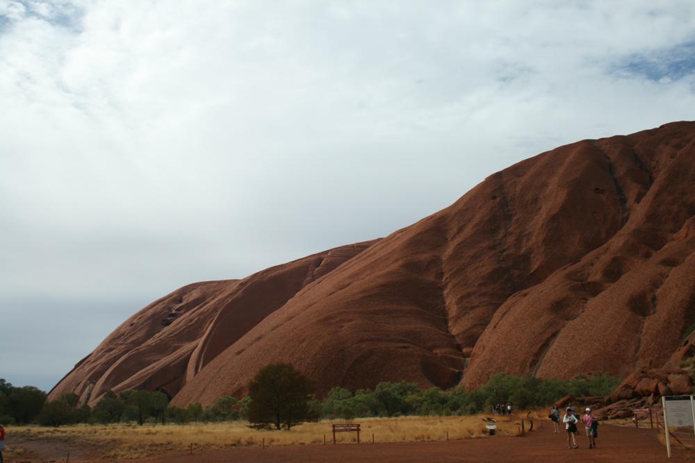 L'Ayers Rock a Uluru in Australia