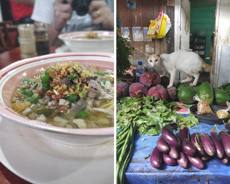 Il Lapaz Batchoy è una zuppa tipica della città di IloIlo sull'isola di Panay