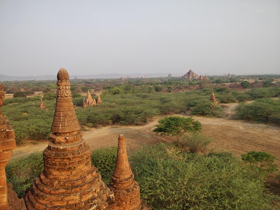 la valle dei templi a Bagan