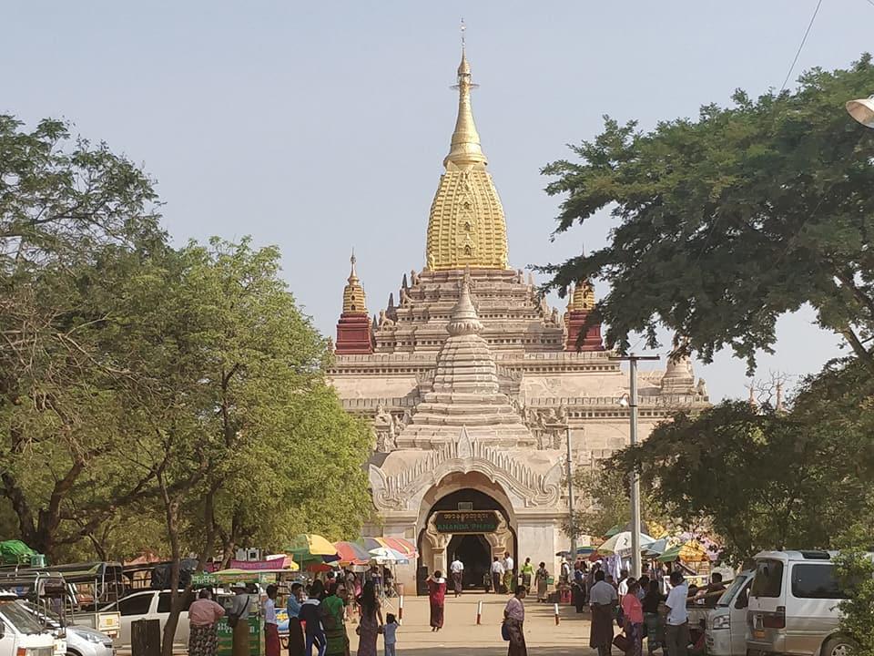 tempio di Ananda a Bagan