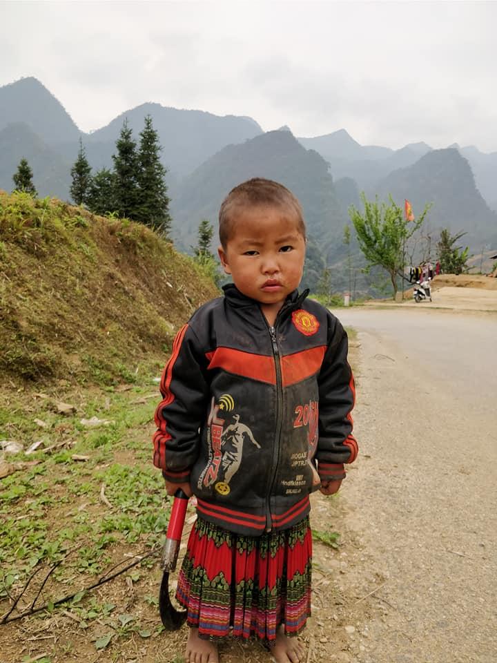 i bimbi delle minoranze etniche di ha giang