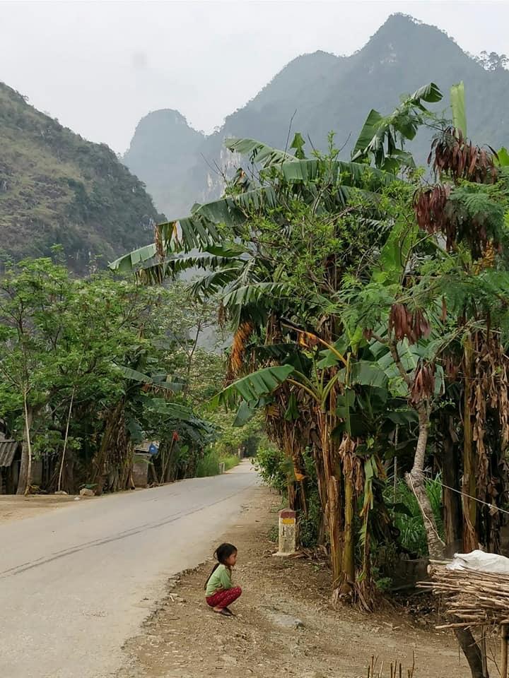 vita da villaggio ad Ha Giang
