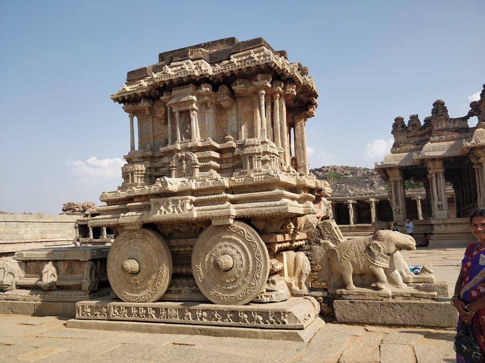 La carrozza di pietra, vijaya vittala temple