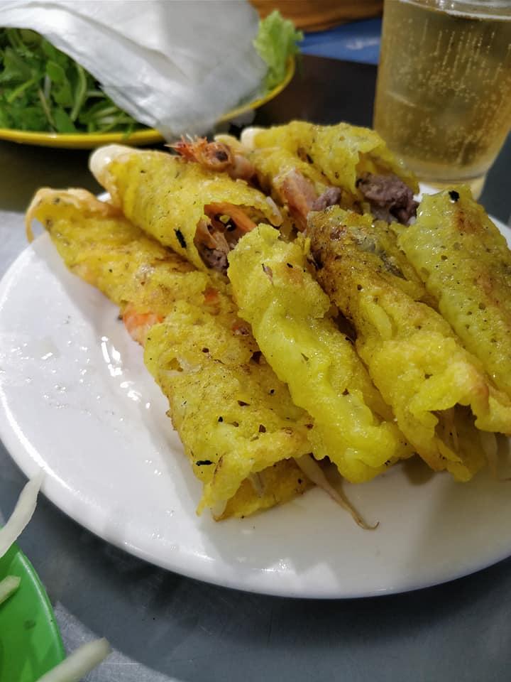Deliziosi Banh Xeo mangiati a Dan Nang