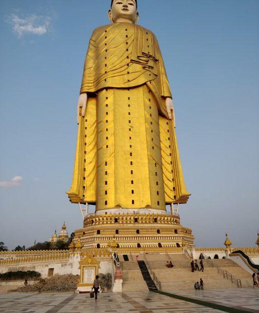 Maha Bodhi Htaung vicino monywa