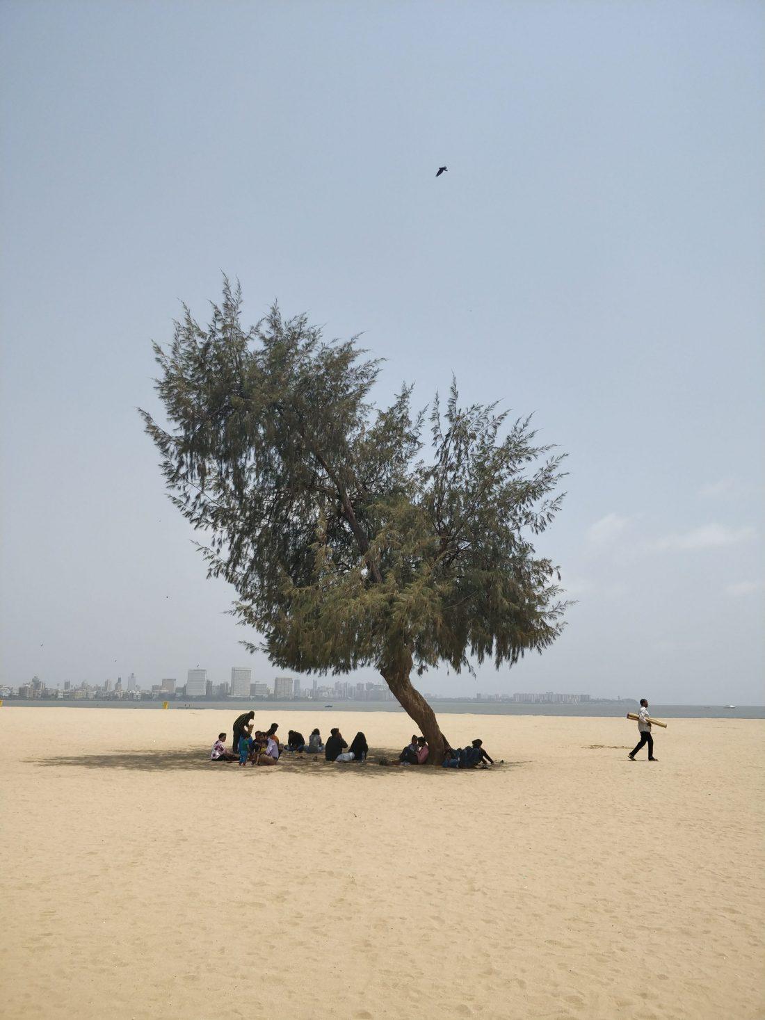 Girgaon Chowpatty beach a Mumbai