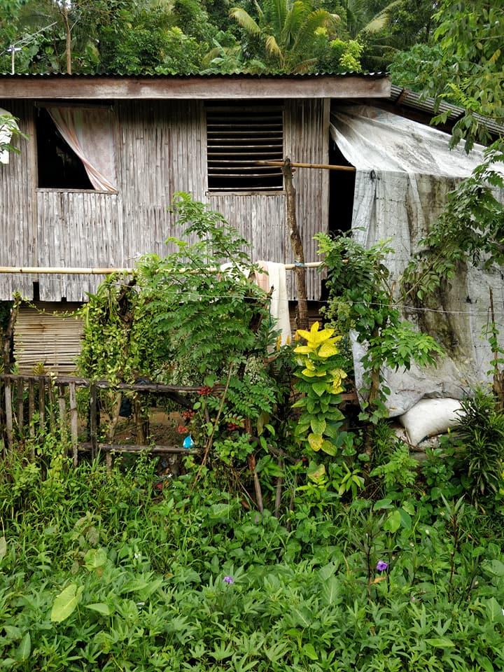 Casa della tribù Ati a Nagpana