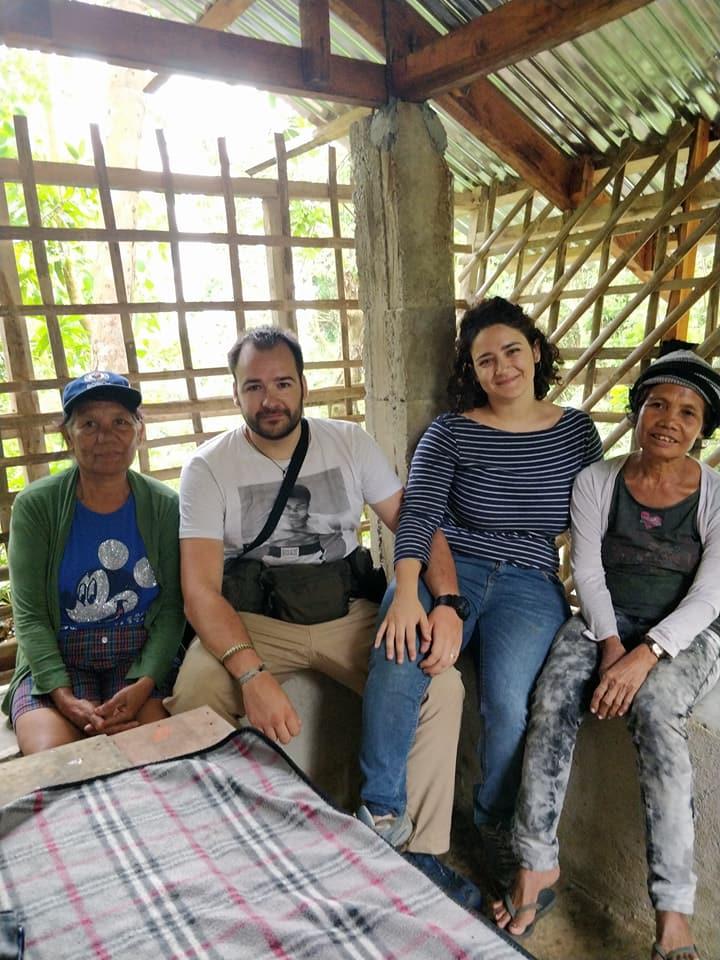 Membri della tribù Ati a Nagpana