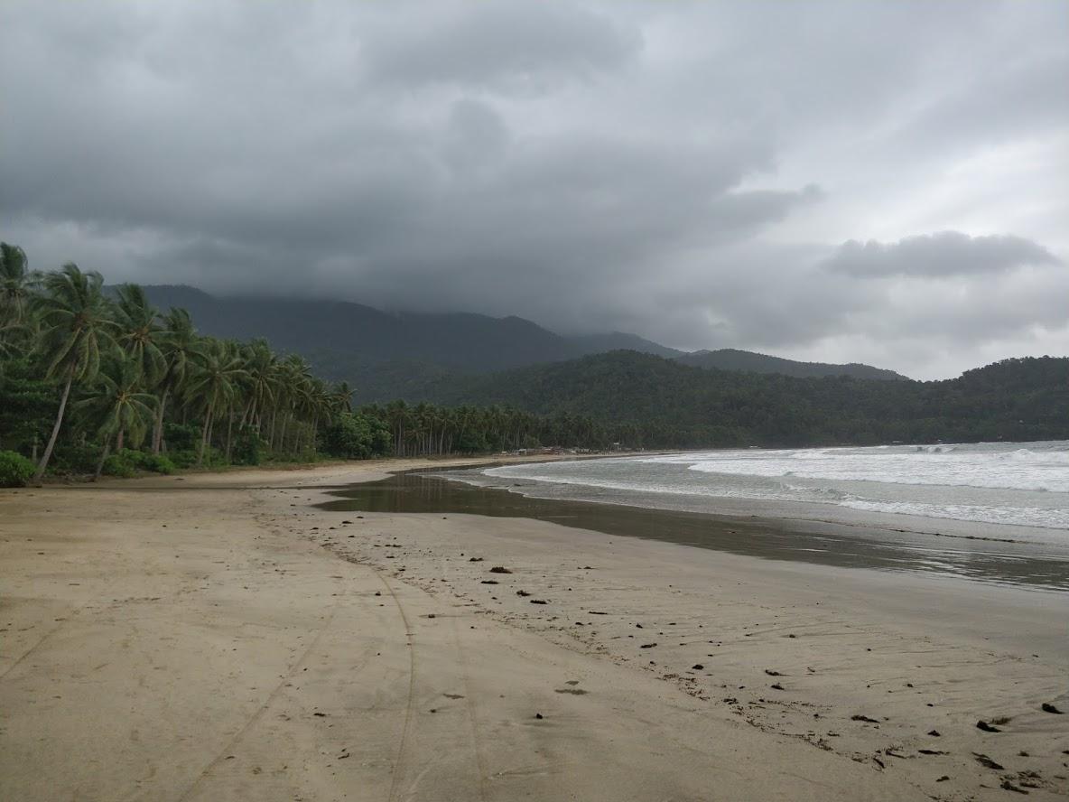 Nactabon Beach sull'isola di Palawan non troppo distante da Puerto Princesa