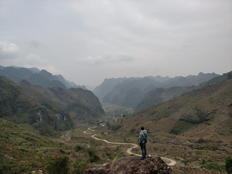 La vista sulla strada tra Du Gia e Tam Son è una delle più spettacolari mai viste in vita nostra!