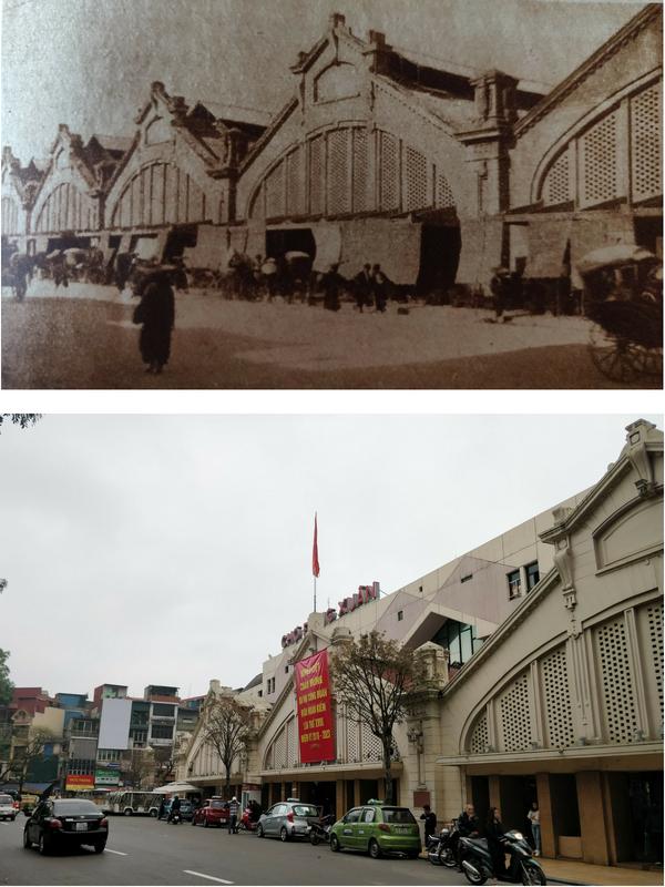 Il grande mercato (oggi Đồng Xuân Market)