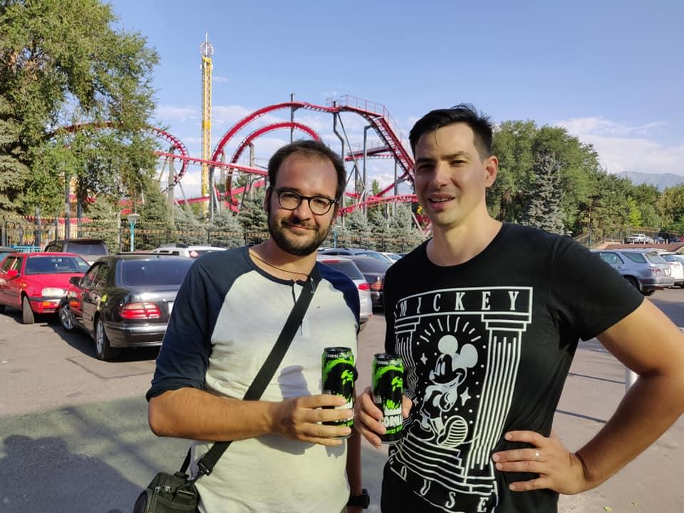 Con Dima ad Almaty
