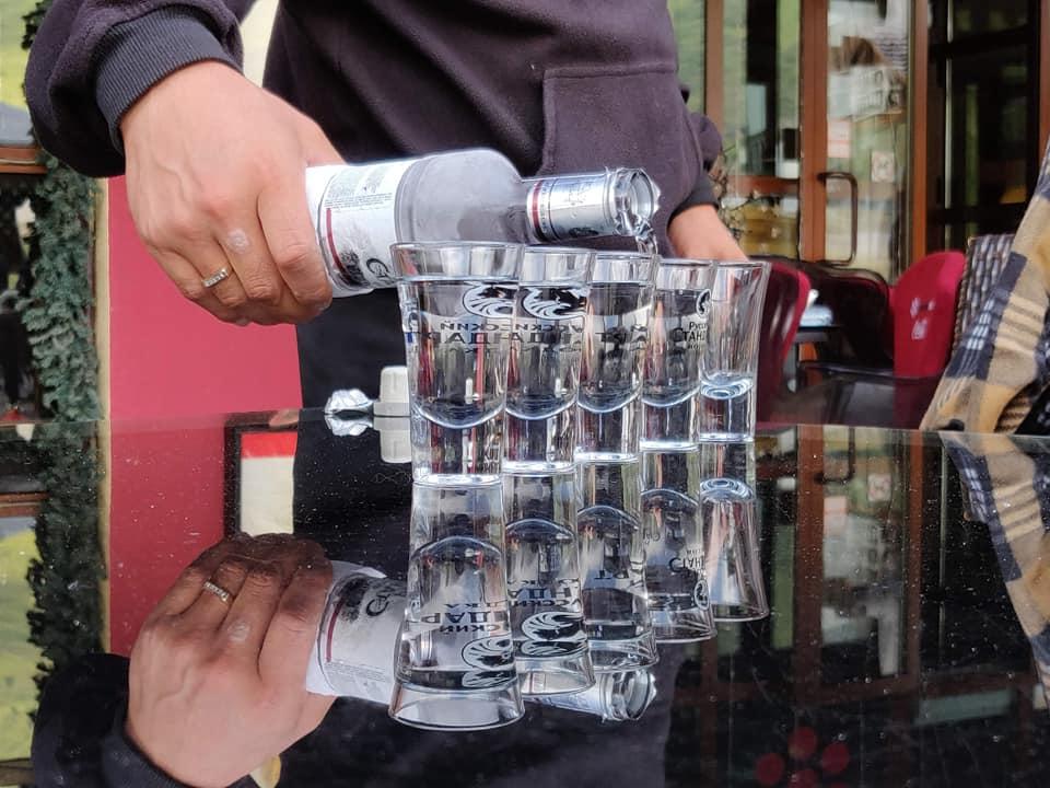 Vodka Kazaka ad Almaty