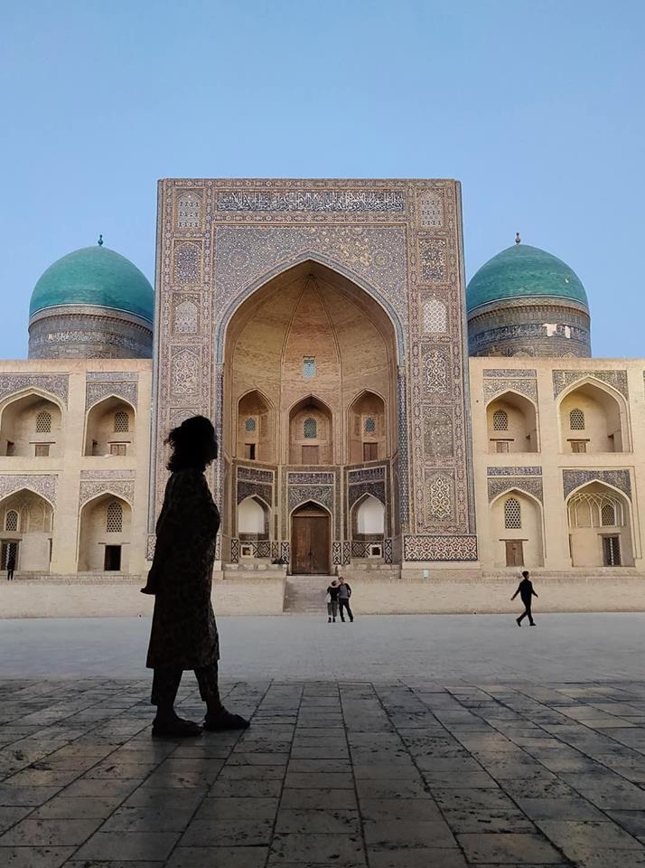 Alle guarda la Mir-i-Arab a Bukhara