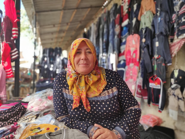 Al mercato di Bulokboshi in Uzbekistan nella Fergana