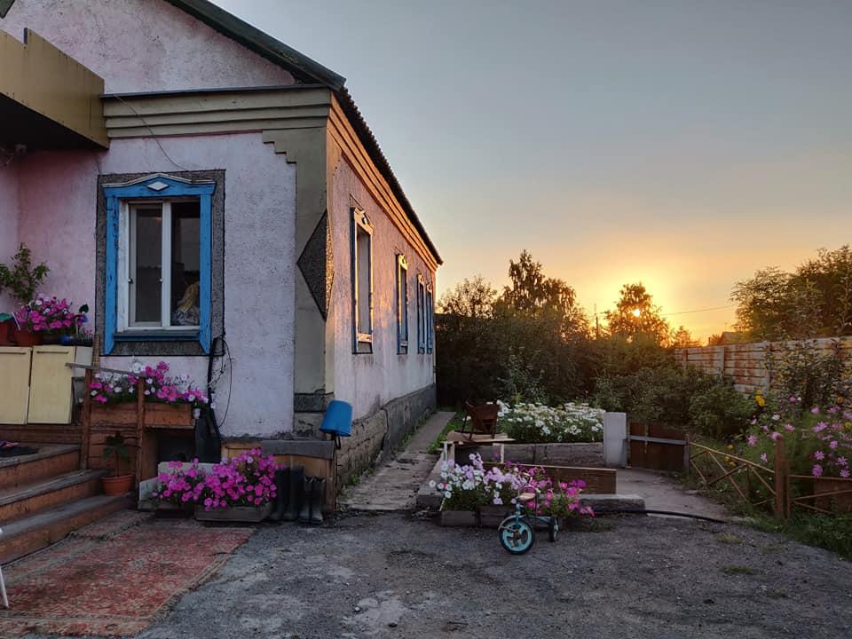 La casa di Alex nei pressi di Karaganda in Kazakistan
