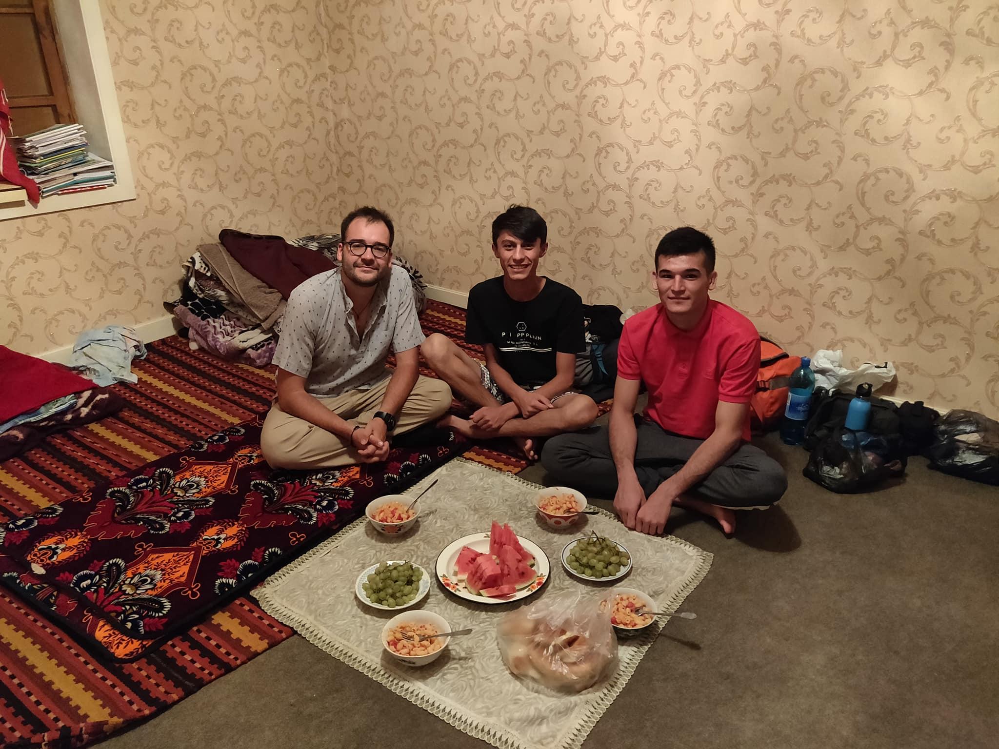 A casa di Farrukh: cenetta italiana a khujand in Tajikistan