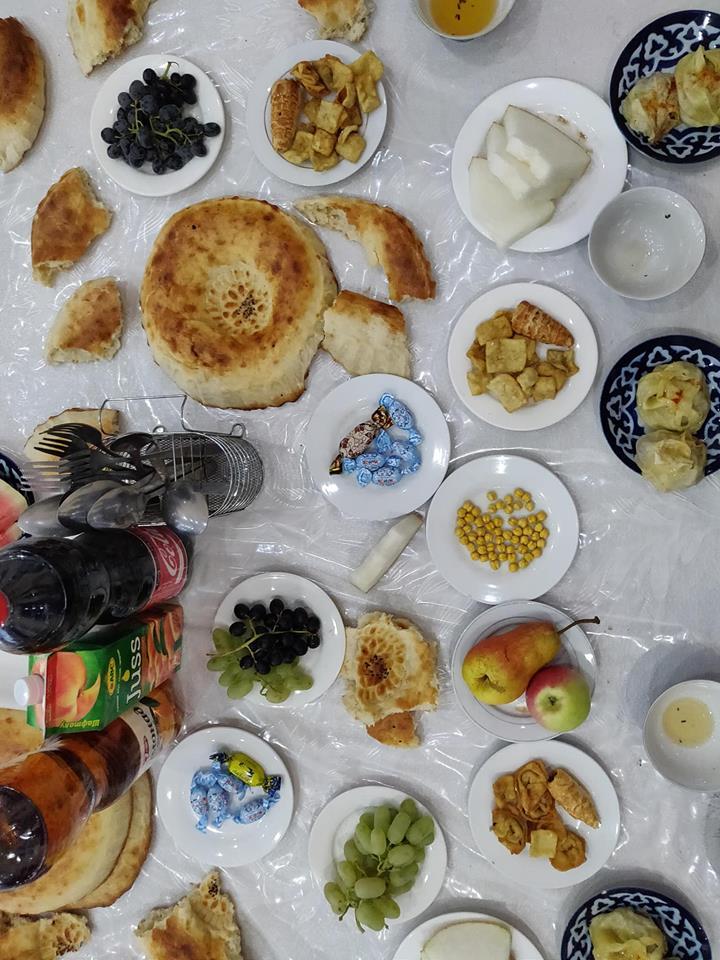 tavolo di matrimonio a Khujand