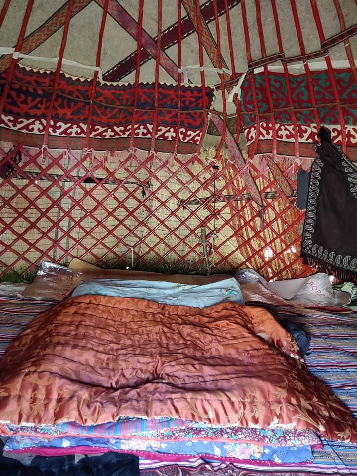 Il nostro nido-yurta a Kol-Ukok
